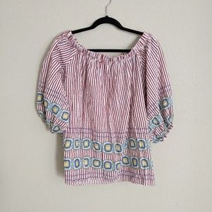By Together Off Shoulder Tunic Size M